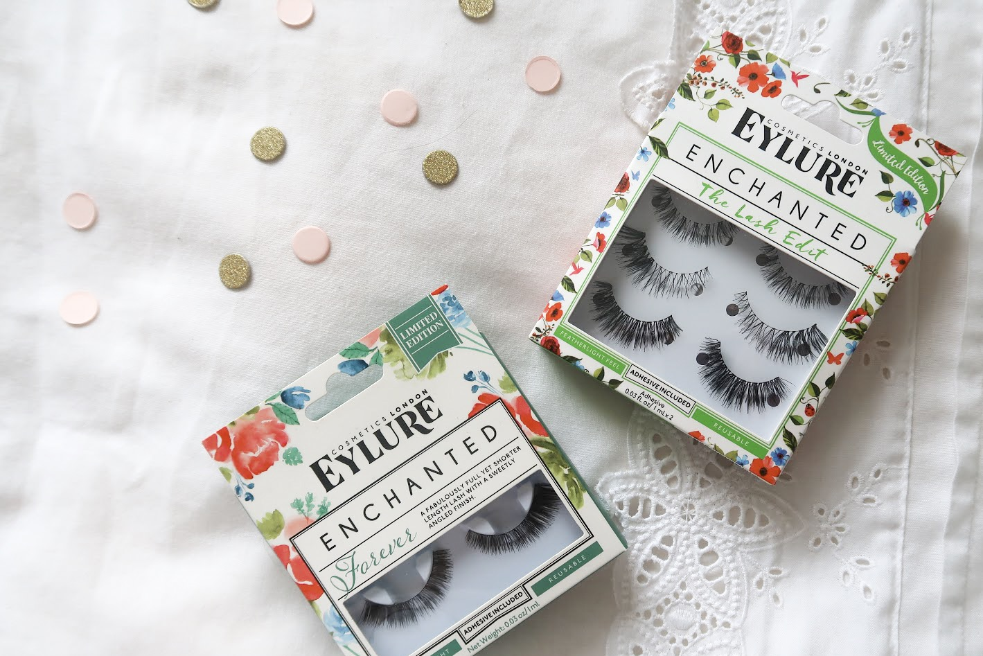 Eyelure Enchanted Lashes Collection Review