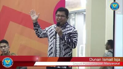 Deputi Pemberdayaan Masyarakat BNN Dunan Ismail Isja