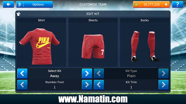 Seragam Dream League Soccer Nike Unik
