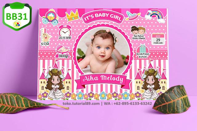 Biodata Bayi Costume Girl Boy Kode BB31 | Ratu