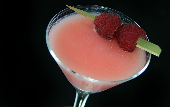 How to Make a Nuts and Berries Martini