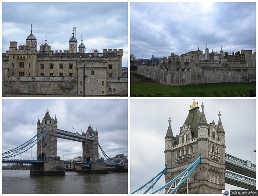 Torre de Londres e Tower Bridge - Diário de Bordo - 5 dias em Londres