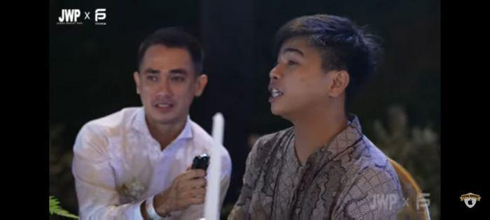 Manajer Rizky Billar membocorkan gaya pacar sang aktor dengan Lesti Kejora Tangkapan layar Youtube Putra Siregar Merakyat