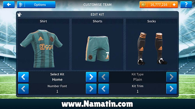 Baju Dream League Soccer Ajax 2019