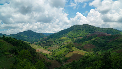 Breathtaking scenery on the way to Mae Salong