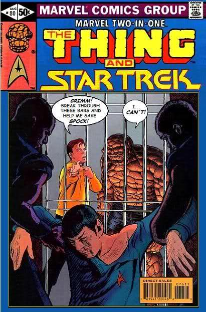 Image result for The Thing and Star Trek