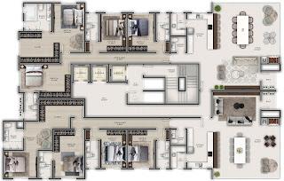 apartamentos tipos gran bellagio