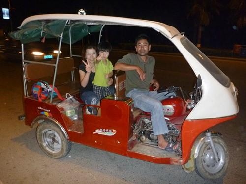ハイナン島 三輪バイクタクシー
