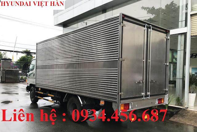 Hyundai 110sp thùng kín inox 3 lớp