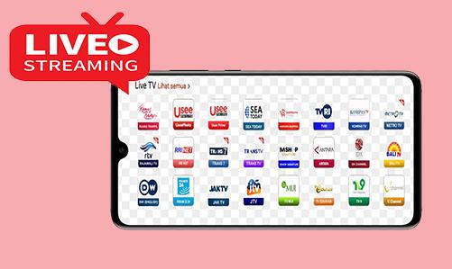 3 Cara Nonton TV (Live Streaming) Di HP Dengan Channel Lengkap