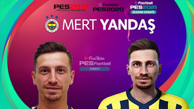 PES 2021 Faces Mert Hakan Yandaş by PES Football Turkey