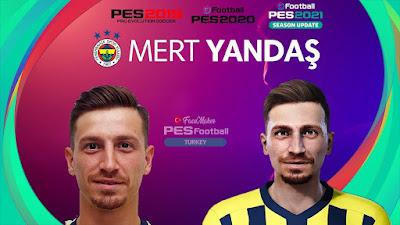 PES 2021 Faces Mert Hakan Yandaş by PES Football Turkey