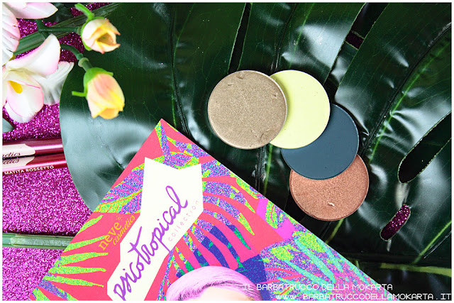 eyeshadow ombretti psicotropical collection neve cosmetics review