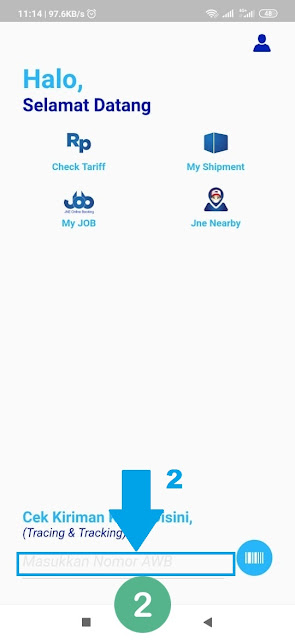 Cara Cek Lacak Nomor Resi Pengiriman Melalui Aplikasi MyJNE