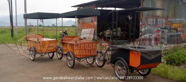desain dan produksi gerobak sepeda bandung