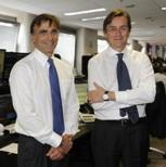 Francesco Perilli e Andrea Vismara, presidente e ceo di Equita Group