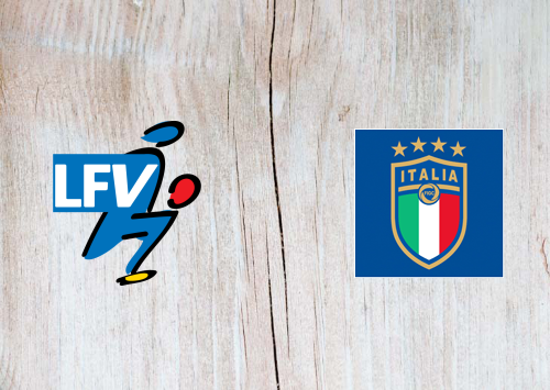 Liechtenstein vs Italy -Highlights 15 October 2019