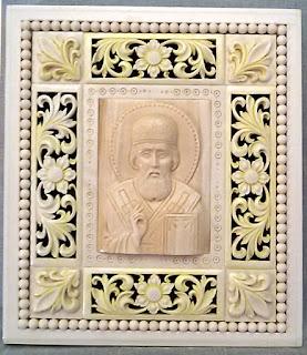 Образ, переданной Свято-Николаевскому приходу И.А. Орловым в 2015 году