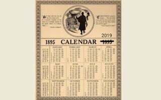 Mengapa Kalender Tahun 2019 Dan 1895 Sama Persis?