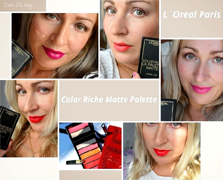 L'Oréal Paris Color Riche La Palette Matte - paleta matowych szminek do ust