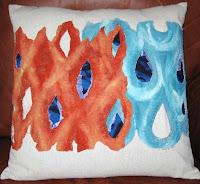 Fire/Water pillow
