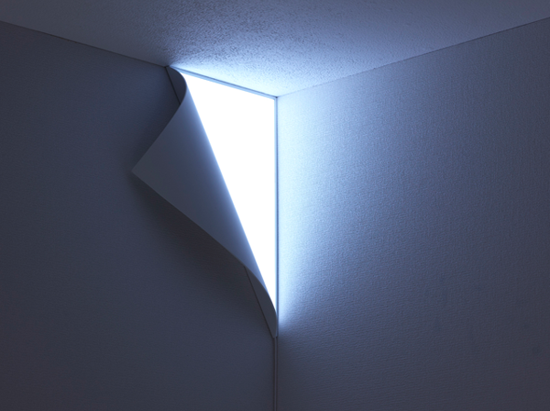 From Head to Hand: Peel Wall Light