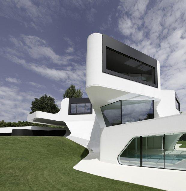 Awesome MODERN HOUSE DUPLI CASA BI J.MAYER H ARCHITEC