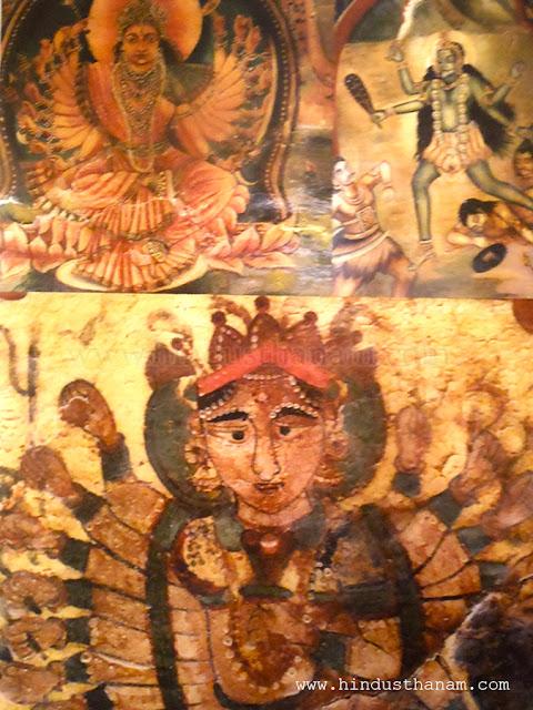Paintings in Mehrangarh Fort