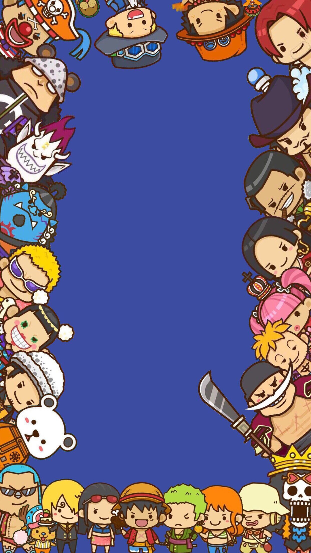 One Piece Anime Phone Wallpapers Heroscreen Cool Wallpapers