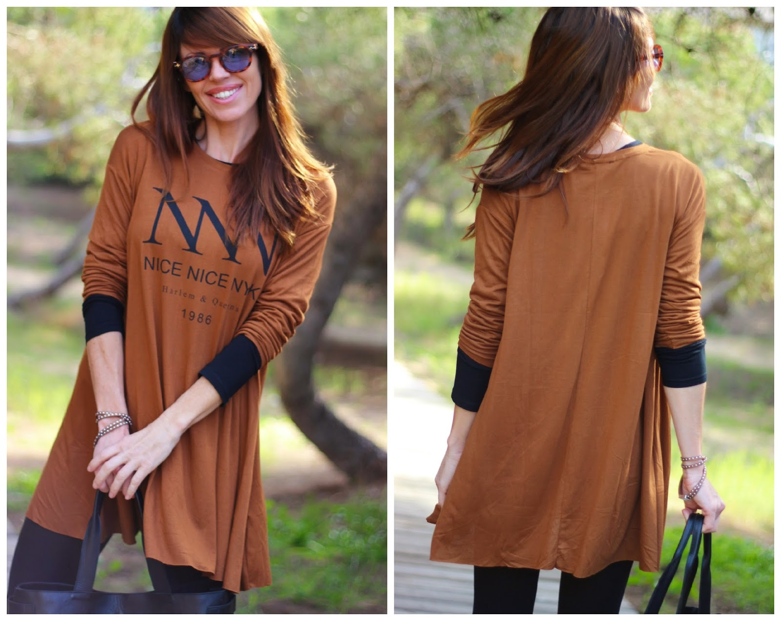 Vestido Bershka - Outfit Brown - Efforless - Sport wear