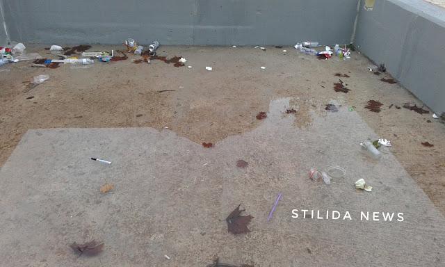 """Η """"Στέρνα"""" στην πλατεία Εθνικής Αντίστασης... Δεν γέμισε ακόμα σκουπίδια!!"""