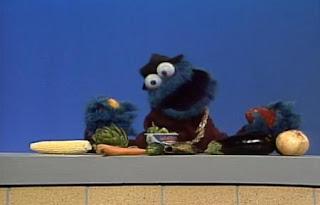 Cookie Monster sings Healthy Food. Sesame Street Best of Friends