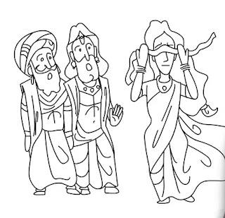 mahabharat-dhritarashtra-ka-vivah-andhi-Bahu-mythology-kahani-hindi-Story-Katha
