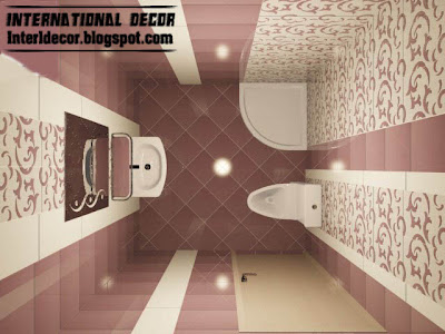 Tiles Design For Small Bathroom Ideas With Patterned Wall Ceramic