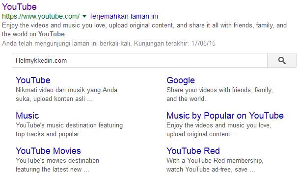 Cara Memasang Searchbox Sitelinks Blogspot Atau Wordpress Dipencarian Google