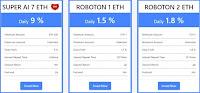 Инвестиционные планы FxRoboton 3