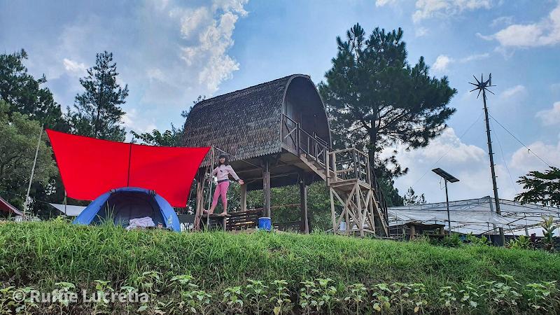 camping ground lembah salak curug putri pelangi
