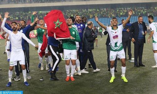 عصبة الأبطال الافريقية: الرجاء البيضاوي يفوز على نادي بريكاما الغامبي برباعية نظيفة