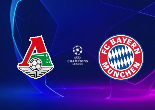 Lokomotiv Moscow vs Bayern Munich -Highlights 27 October 2020