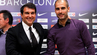 Joan Laporta wants to bring Pep Guardiola back to Camp Nou if he is elected