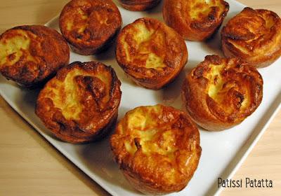 recette de Yorshire pudding, recette anglaise, british recipe, patissi-patatta