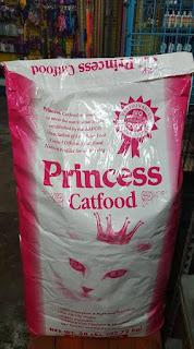 Princess cat food
