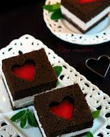 walentynowe ciasto serce