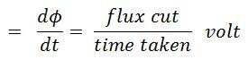 E.M.F Equation of DC Generator