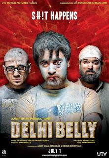 Download Delhi Belly (2011) Hindi Full Movie 480p [350MB]   720p [800MB]