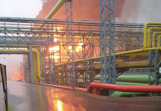 Fire breaks out at ONGC plant in Mumbai, fire tenders at the spot
