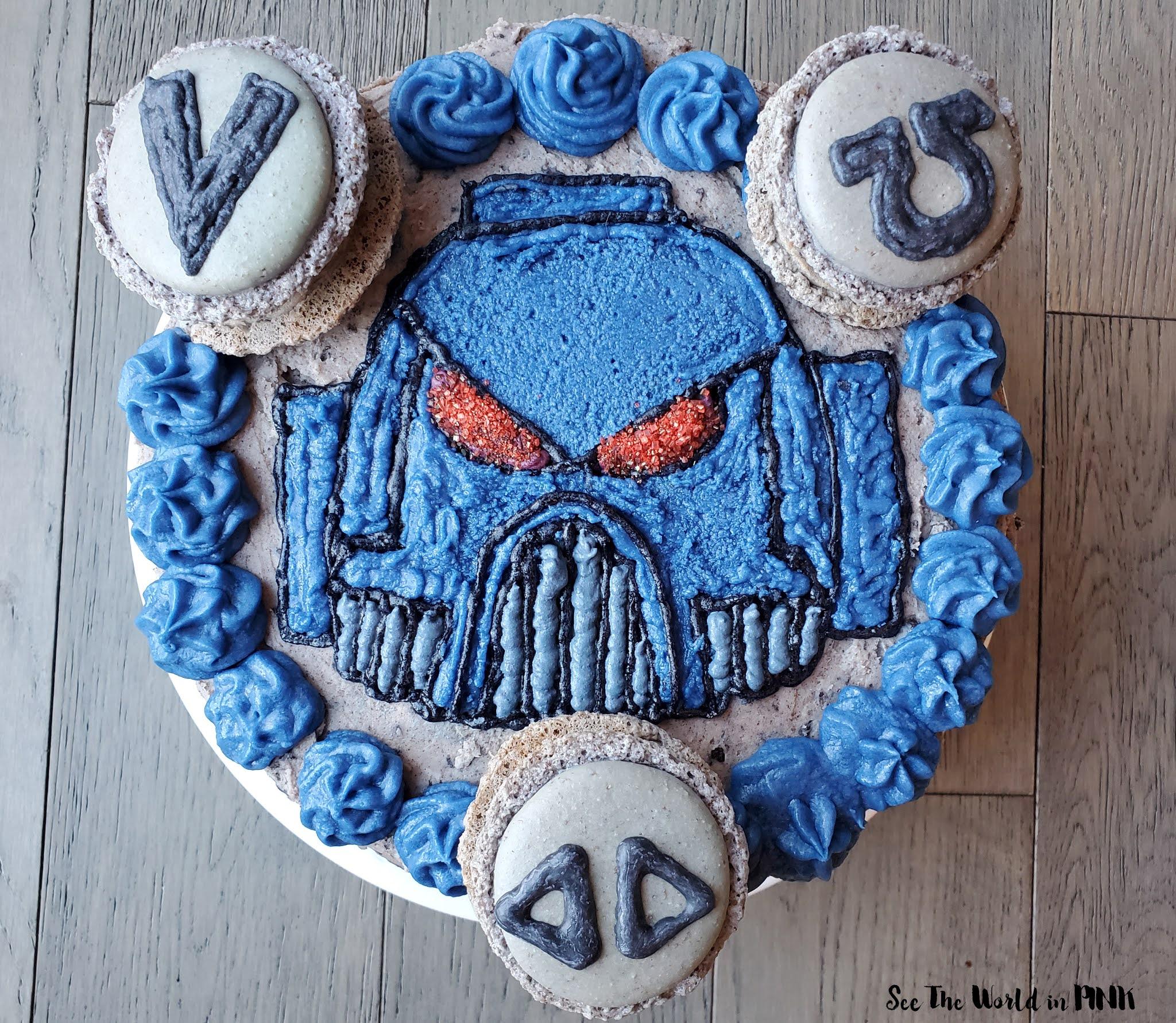 Warhammer 40K Space Marine Cake