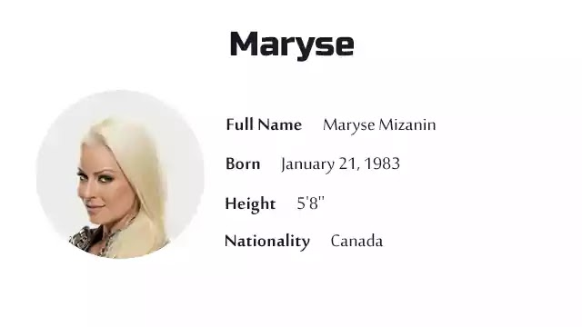 Maryse Biography History Net Worth And More