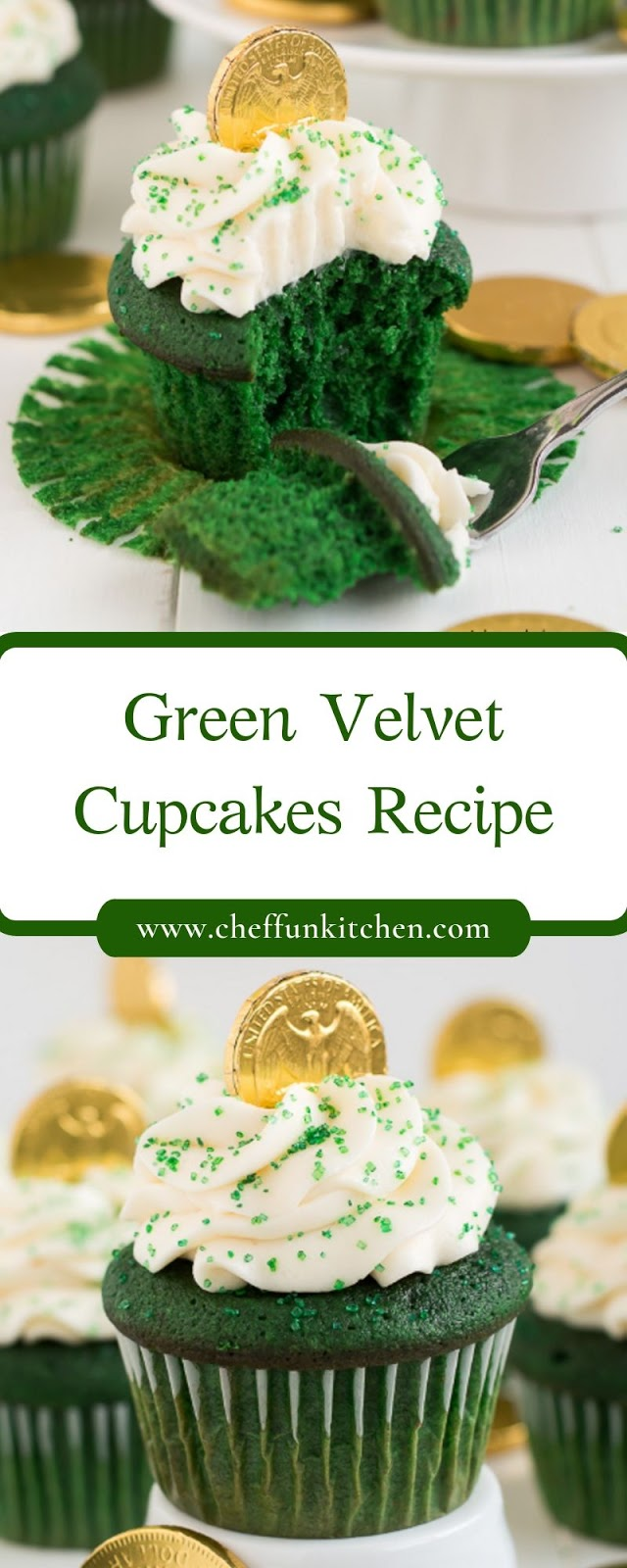 Green Velvet Cupcakes Recipe