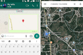 whatsapp,lokasi palsu,fake gps,trik whatsapp,bomchat,ngerjain teman wa,kirim chat kosong,